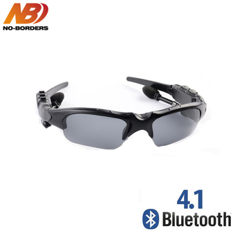 NO las fronteras ciclismo gafas de sol en auricular Bluetooth inteligente gafas de deporte al aire libre inalámbrico bicicleta, gafas de sol de auriculares con micrófono