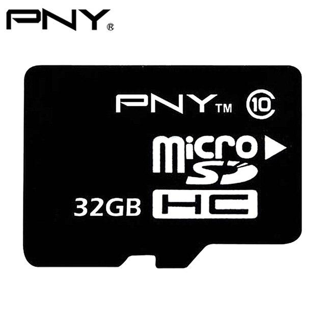 PNY 100% Оригинал 2017 TF Карта Micro Sd 8 ГБ 16 ГБ 32 ГБ Класса 10 MicroSDHC Небольшой Флэш-Памяти SD Карты Для Мобильных Телефонов Класса 4 4 ГБ