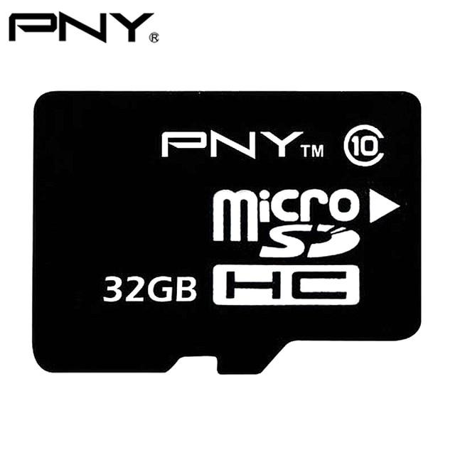 PNY 100%Original 2017 TF Micro SD Card 8GB 16GB 32GB Class 10 MicroSDHC Small Flash Memory SD Card For Mobile Phones Class 4 4GB