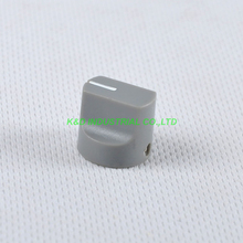 10pcs Colorful Rotary Control Vintage Plastic Gray Knob 16x15mm for Guitar 6.35mm Shaft Amp Parts