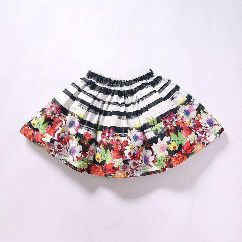 Tutu Rok Kinderen Meisje Skirts For Girls Cotton Skirt Cotton Short Floral  Lovely 2017 New Baby Tutu Skirt H-dress54