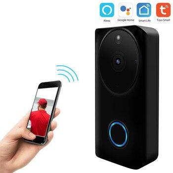 Graffiti Intelligent Wifi Door Bell Network Wireless Video Talk-to-Talk Camera 1080p Camera
