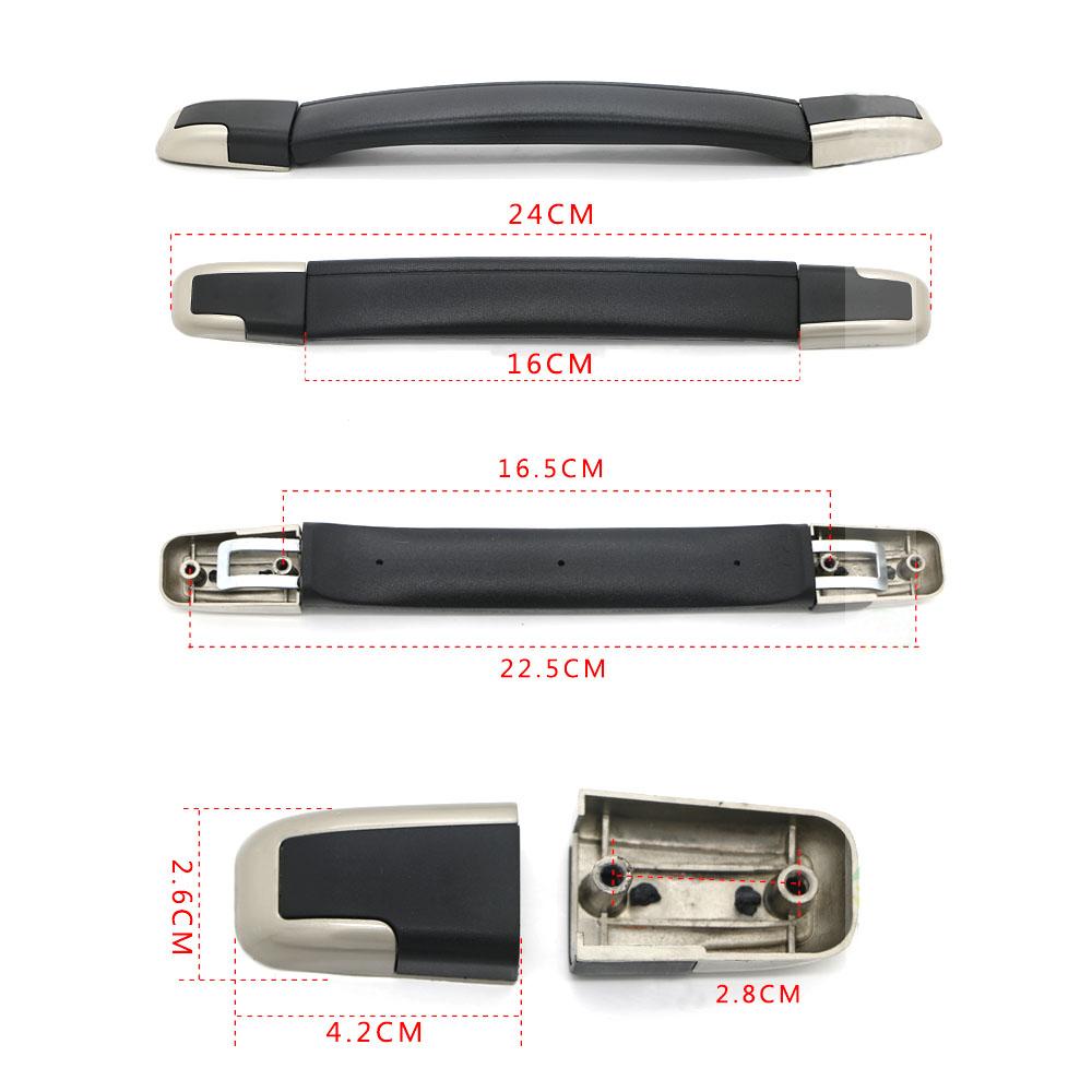 2PCS 16cm B003 Flexible Suitcase Luggage Case Plastic Spare Strap Handle Grip Replacement