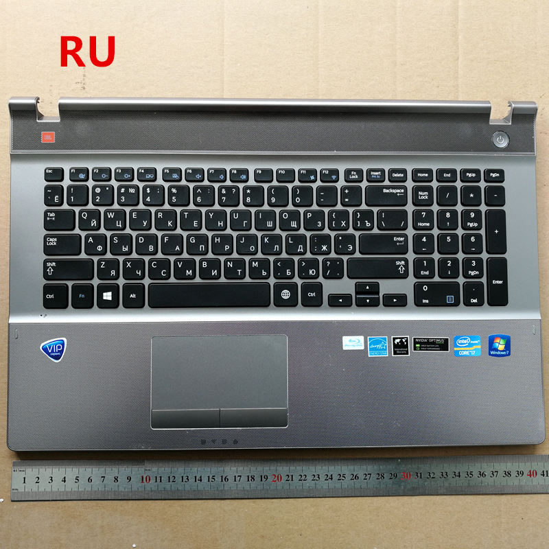 RU/Turkey/Korean/Germeny/UK/ New laptop keyboard with touchpad palmrest for samsung 550P7C-S02 NP550P7C 550P7C-S03 russian new laptop keyboard for samsung np300v5a np305v5a 300v5a ba75 03246c ru layout