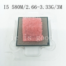i5-580M Processor (3M Cache, 2.66GHz ~ 3.33Ghz, i5 580M , SLC28 ) PGA988 Laptop CPU Compatible HM55 PM55 HM57 QM57