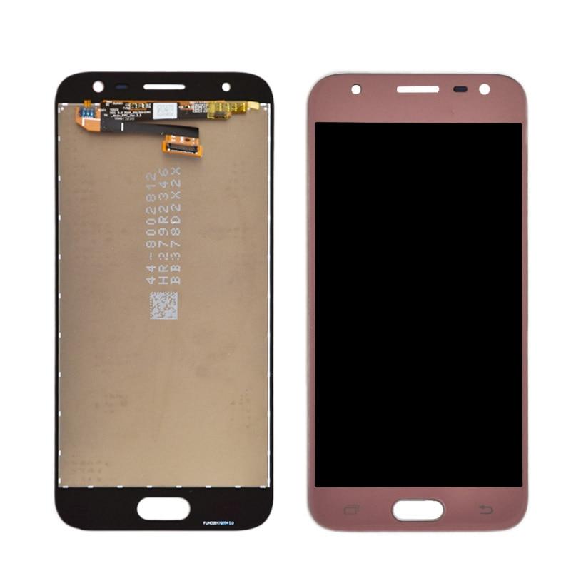 J330 lcd Para Samsung Galaxy J3 2017 J330 J330F J330G Display LCD e Touch Screen Digitador Assembléia J3 Pro 2017 LCD Dual SIM