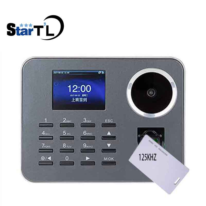 Free Software Biometric Fingerprint Time Attendance ZK IClock360-P Biometric Time Recorder Rfid Card Attendance