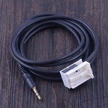 CITALL Новый 12 pin 3,5 мм стерео автомобильный кабель для входа внешнего сигнала разъем аудио адаптер подходит для peugeot 307 308 406 407 508 607 3008 партнер RCZ