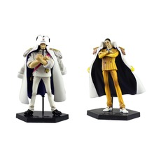 One Piece Anime DX Marine Vol.1 Kizaru & Sengoku PVC Action Figure No Box Free Shipping