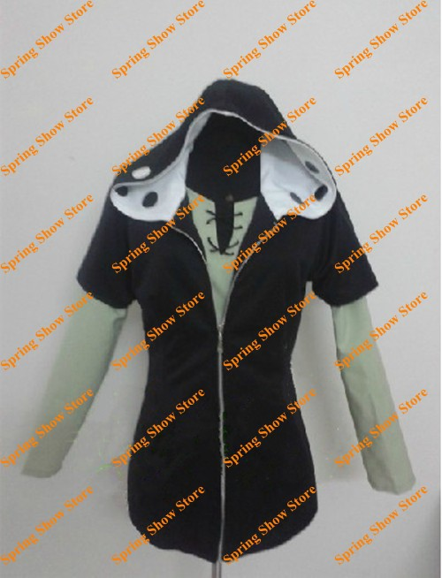 Free Shipping Kagerou Project Mekakushi Dan Menber No.3 KANO SHUUYA Cosplay Costume Anime Customized Hoodie Uniform