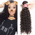Top quality Brazilian Human Virgin Hair 7A Brazilian Curly Hair 1pc Only 8-26inch Brazilian Virgin Hair Curly Weave Bundles
