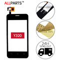 Original Tested Sensor Touchscreen For Huawei Y320 Touch Screen Digitizer Glass Panel Black White Parts Free Adhesive