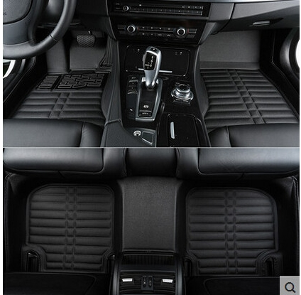 Alta qualità! personalizzato tappetini speciali per Ford Kuga 2017 antiscivolo tappeti per auto impermeabile tappeti per Kuga 2018-2013, trasporto libero