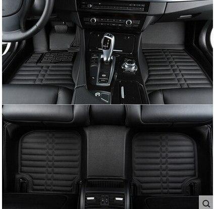 Hohe qualität! kundenspezifische sonder fußmatten für Ford Kuga 2017 rutschfeste wasserdichte auto teppiche teppiche für Kuga 2018-2013, freies verschiffen