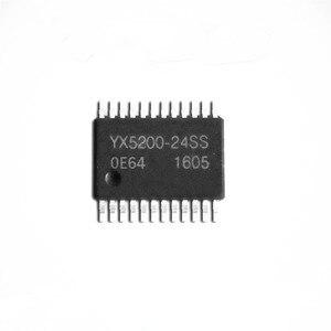 5 قطعة YX5200-24SS MP3 فك رقاقة UART المنفذ التسلسلي MP3 رقاقة حقيقية الصوت IC YX5200-24SS