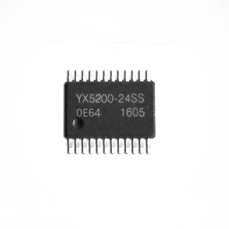 US $6 0 |5PCS YX5200 24SS MP3 Decoder Chip UART Serial Port MP3 Chip  Genuine Audio IC YX5200 24SS-in Public Broadcasting from Security &  Protection on
