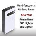12000 мАч многофункциональный мини Телефон Зарядное устройство Авто Автомобиль Скачок Стартер Бустер Аварийного Банк SOS свет Бесплатно доставка
