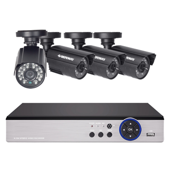 DEFEWAY 8CH CCTV System 1200TVL CCTV Camera Home Security Video Surveillance Kit Day Night Vision CCTV Home Security New Arrival