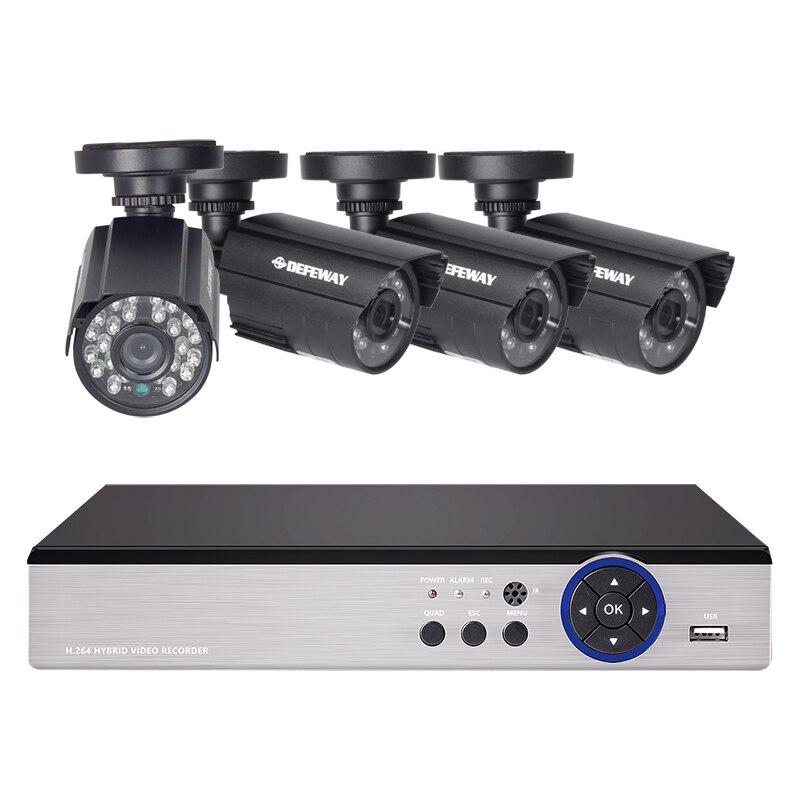 DEFEWAY 8CH Sistema CCTV 1200TVL Cctv Home Video Sorveglianza di Sicurezza Kit Day Night Vision CCTV di Sicurezza Domestica Nuovo Arrivo