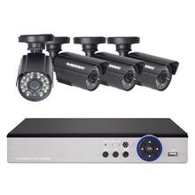 DEFEWAY 8CH система видеонаблюдения 1200TVL Камера видеонаблюдения для дома комплект видеонаблюдения День ночного видения CCTV Домашняя безопасность новое поступление