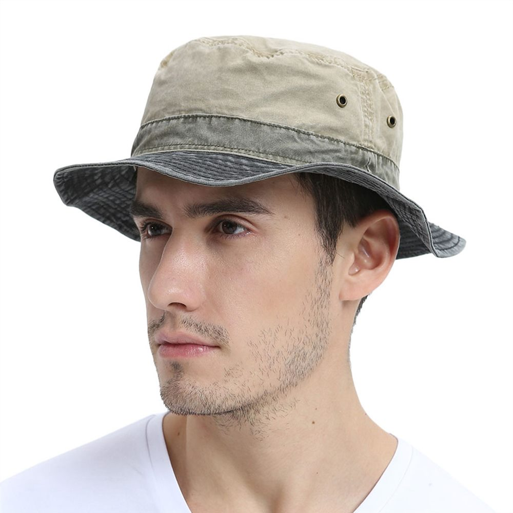 HTB1VBmkKCzqK1RjSZFHq6z3CpXat - VOBOOM Bucket Hats for Men Women Washed Cotton Panama Hat Summer Fishing Hunting Cap Sun Protection Caps Panama Hat 139