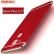Huawei Nova plus чехол 5.5 дюймов MOFI оригинальный Huawei maimang 5 Nova plus задняя крышка Роскошный чехол красный синий золото maimang5