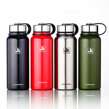 1500ML Large Portable stainless steel Outdoor travel Insulation tea infuser thermos water bottle Sport flask cup Car kettle