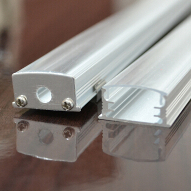 30m(30pcs) a lot, 1m per piece, led aluminum profile for led strips SN2212-1m, clear cover and milky diffuse cover are available