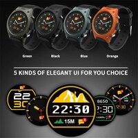 HOT!2017 Newest smart watch Q8 Waterproof IP57 Sport wrist watch MT2502 With Bluetooth G-sensor Heart Rate Compass pk S9/S200