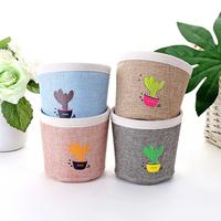 OUSSIRRO   Storage   Bag Canvas Flower Pot Sundries Organizer   Home     Office   organizer   Storage   basket Canvas bags Plant pot   Home   decor