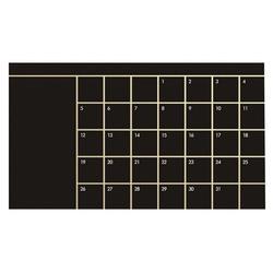 92*60 cm Mês Calendário Blackboard Planner Removível Decalques de Vinil Adesivos de Parede Quadro Negro Escritório Escola Suprimentos
