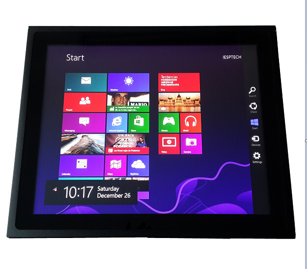 15 inch Industrial Fanless Panel PC, Capacitive Touchscreen, 1037U CPU, 2G DDR3, 320GB HDD, touch panel PC, 15 inch HMI 1 year warranty 1pc oem kwipc 19 4 resistive industrial touch panel pc dual 1 8g cpu 500g hdd disk 1440x900 comx2 usbx4