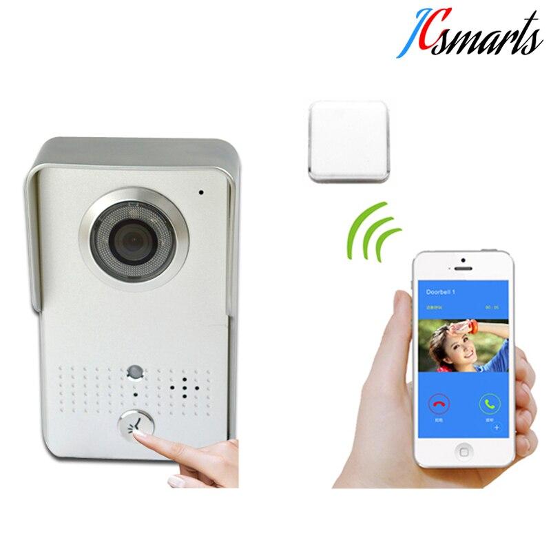 Actop wifi602 wifi vidéo porte sans fil de bell porte interfone téléphone ouvrent la porte à distance par téléphones intelligents