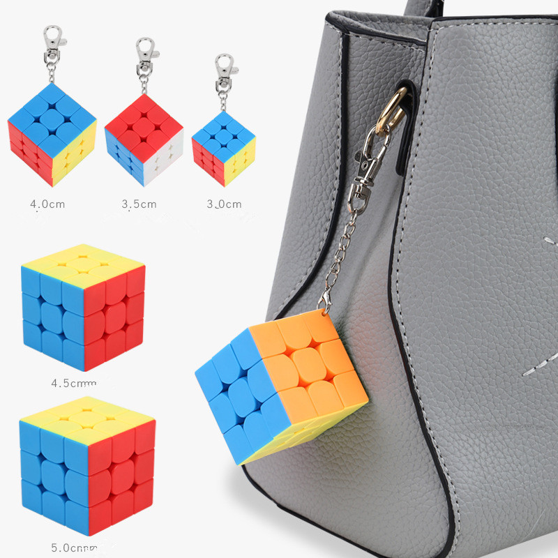 geekoplanet.com - Magic Speed 3x3x3 Puzzle Cube Keychain