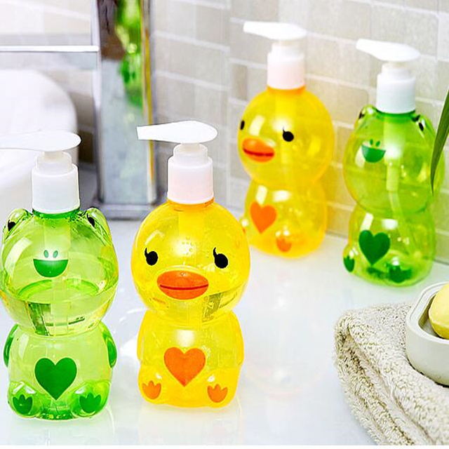 250ML/500ML liquid soap dispenser Refillable Bottles Shower gel Containers Pump Bottles for Shampoo Bathroom Accessories