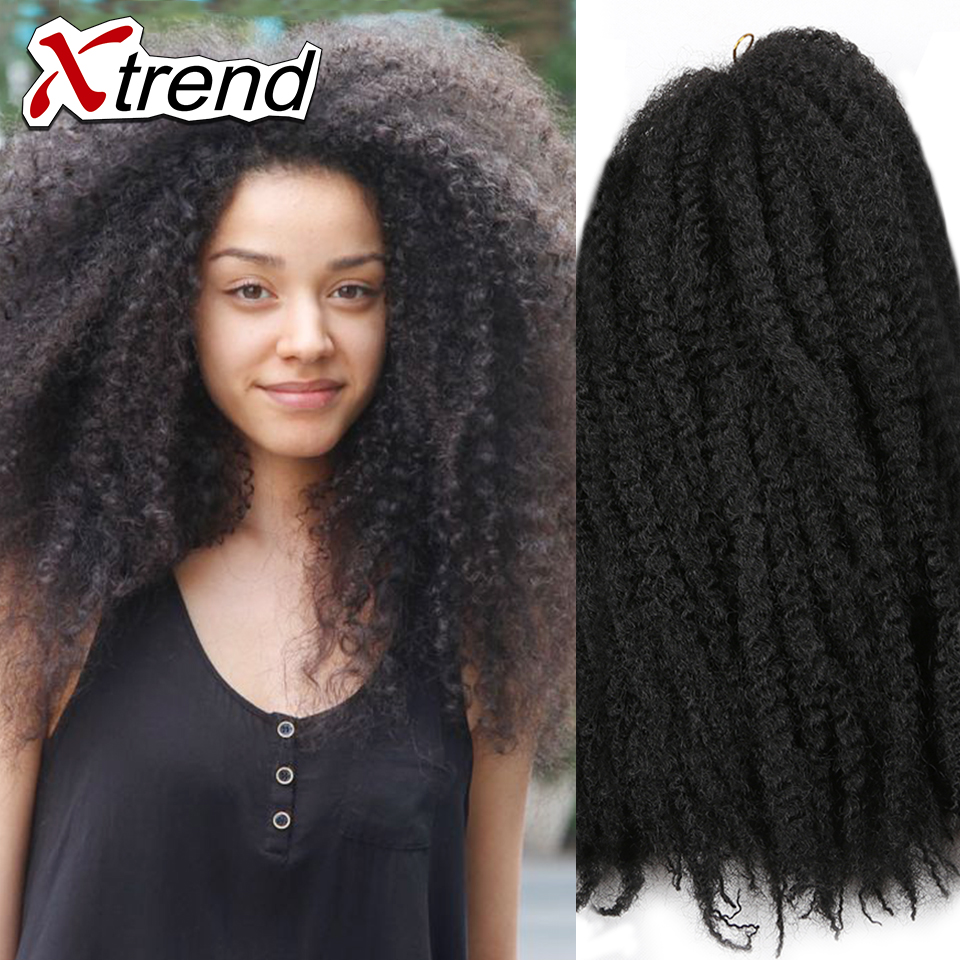 Crochet Hair Cheap : kinky twist hair crochet braids cheap braiding hair marley braid hair ...