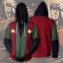 Naruto Anime sweatshirts cosplay costume Jiraiya Gama Sennin 3D classic Men Women hoodies clothing Top 2018 New