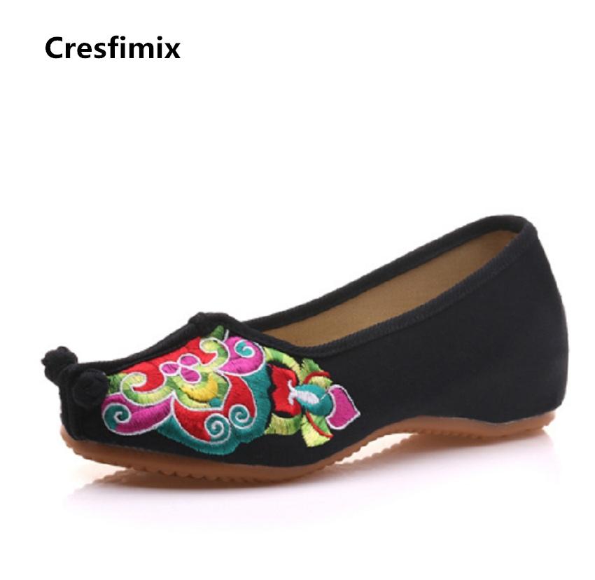 BAICLOTHING zapatos de mujer women cute slip on dance shoes female chinese traditional cloth shoes lady cool flat shoes baiclothing women cute spring
