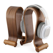 קלאסי טבעי עץ אוזניות Stand U צורת אוזניות מחזיק אוזניות קולב אוזניות שאר עבור פעימות JBL אוניברסלי אוזניות חמה