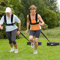 Schlitten Harness Reifen Ziehen Strap Fitness Widerstand Stärke Trainings Workout Pad Gürtel für Outdoor-Sport Sport Euipment Acce