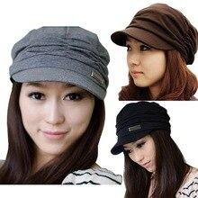 Женская модная плиссированная Кепка, Повседневная шляпа с полями для путешествий, Женская остроконечная шапка, вязаная шапка-носок, плиссированная шляпа от солнца для девушек