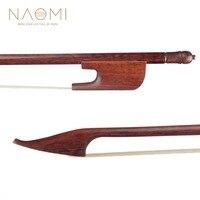 NAOMI Baroque Violin Bow Snakewood 4/4 Violin Bow For 4/4 Violin New Violin Parts Accessories