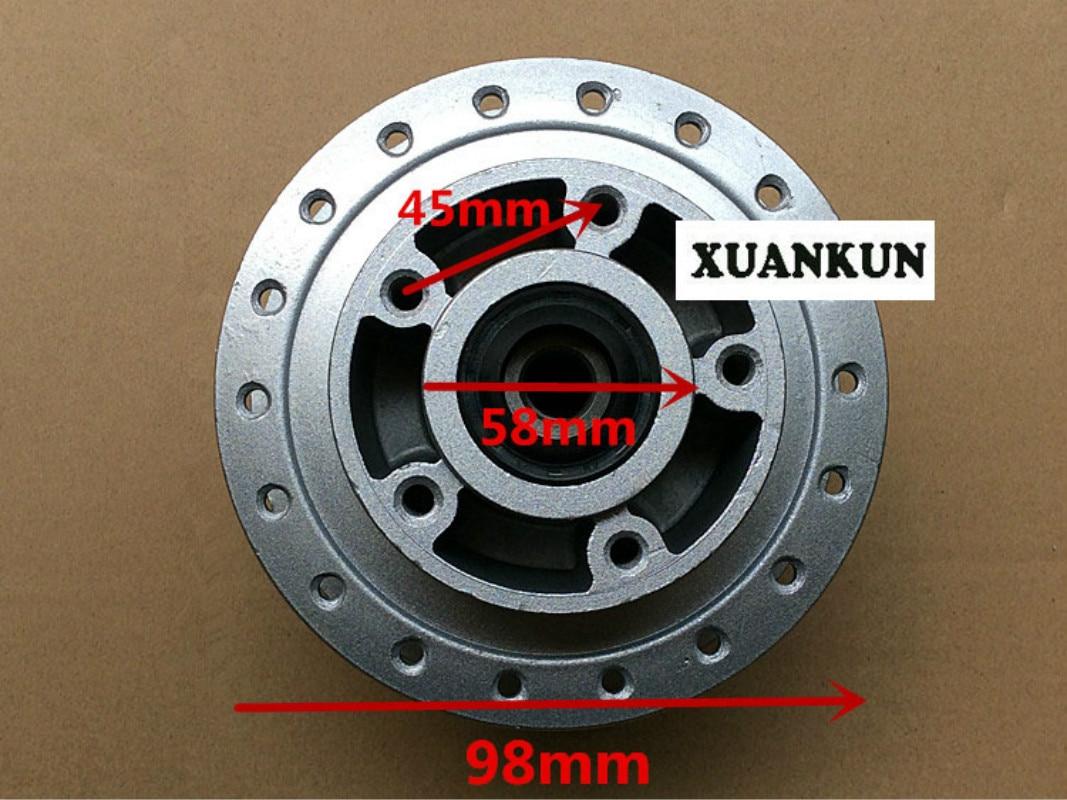 CG125 / WY125 Motorcycle Retro Disc Brake Disc Brake Wheel After Wheel Brake Drum Core disc brake squeal