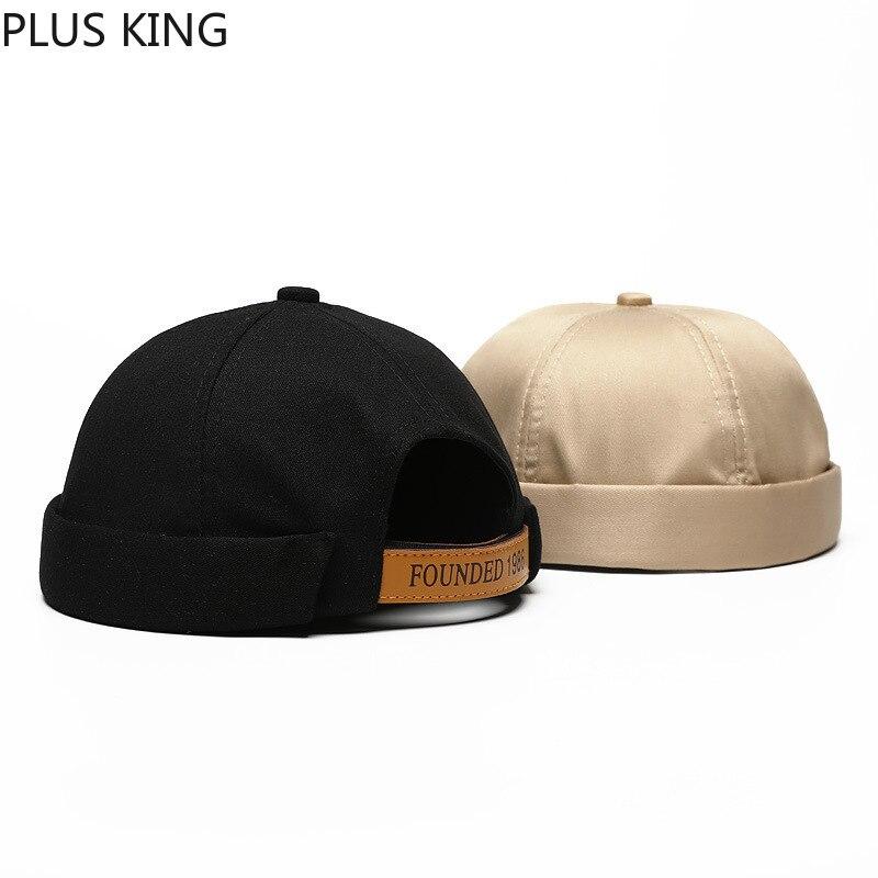 Founded 1986 MEN WOMEN COUPLE Retro Hip Hop Hat Hooligan Style Melon Cap Landlord Caps Black Blue Khaki Beanie