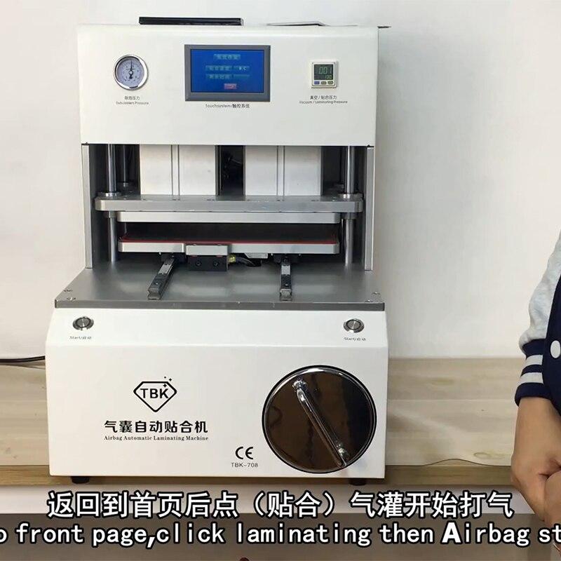 Reparo Da Máquina de Laminação Automática Removedor