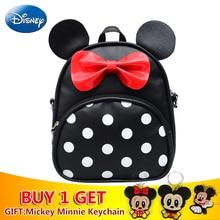 Disney Mickey Backpack Cute Minnie Cartoon Women Bag Girl Handbag Fashion School Backpacks Boy Travel Waterproof Birthday Gifts