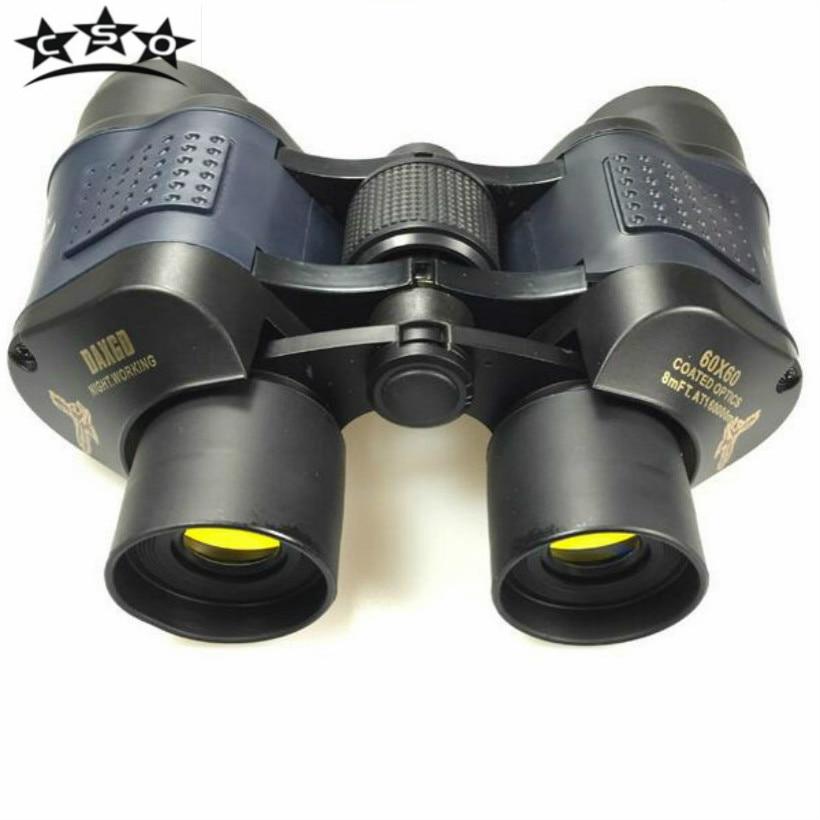 CSO 60x60 Binoculars High Power HD Binoculo Telescope Red Film Teleskop Reticle Optic hd vision Professional