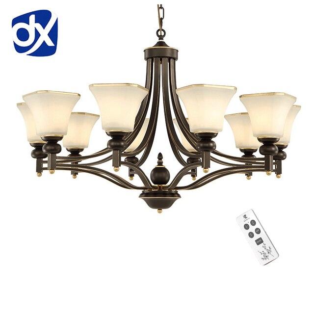 Hoge Kwaliteit Klassieke Kroonluchter Verlichting Woonkamer Lamp E27 ...