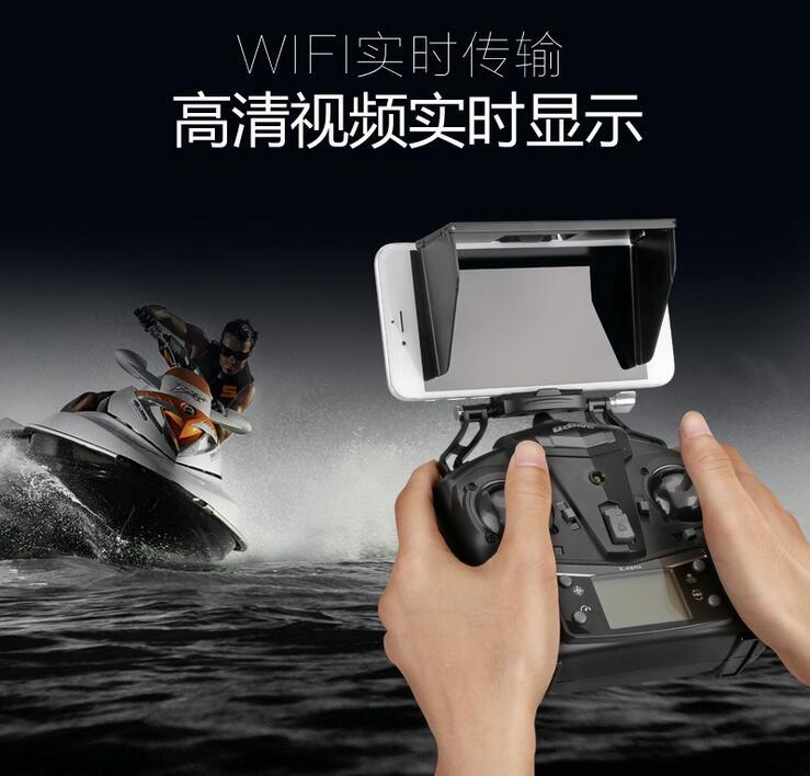 WIFI FPV rc ұшағы I350HW 2.4G 4CH 6Axis биіктігі HD - Қашықтан басқару пульті бар ойыншықтар - фото 2