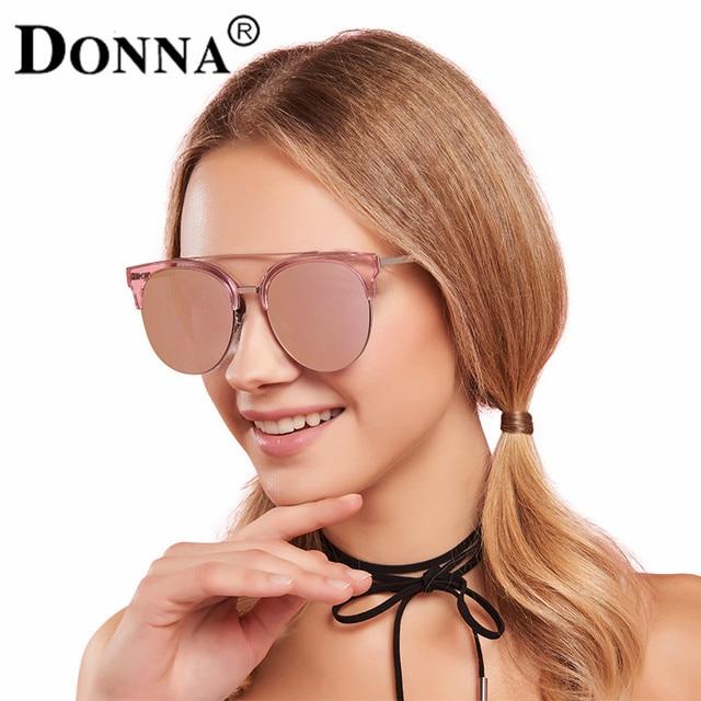 da2829f94d Donna Fashion Sunglasses Women Mirror Sun Glasses Big Oversized Sliver Round  Cat Eye Driver Fishing Desinger Eyewear HD Lens D51